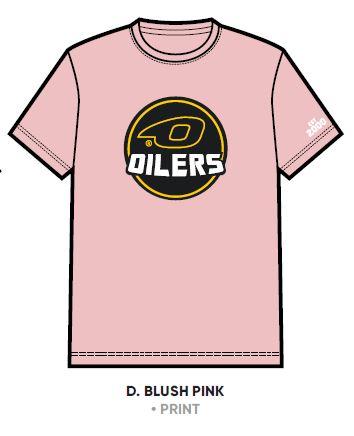 T skjorte mlogo barn rosa Oilersshoppen Sammen er vi